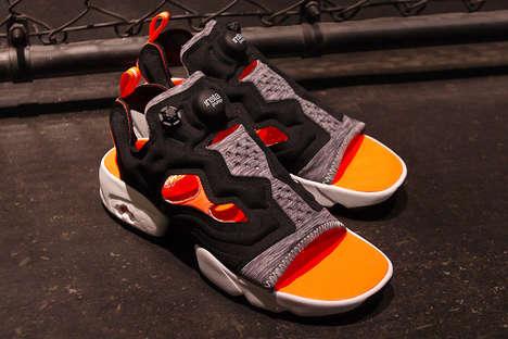 Reimagined Cut-Out Sandals