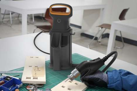 Vacuum-Integrated Power Tools