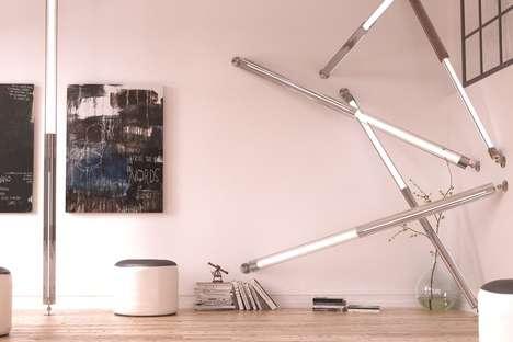Adjustable Architecture-Inspired Illuminators