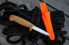 Lightweight Floating Knives - The Morakniv Floating Serrated Knife is Ideal for Aquatic Enthusiasts