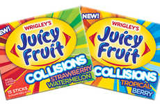Dual-Flavor Chewing Gums - Juicy Fruit Collisions will Launch in Two Tasty Flavor Varieties