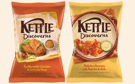International Flavor Kettle Chips