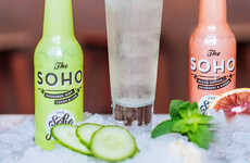Quick-Serve Cocktail Mixers - These New Soho Juice Co. Still Mixers Can be Prepared in a Flash