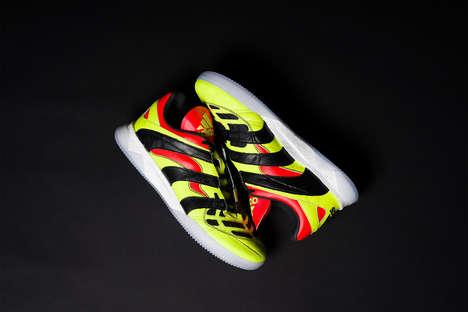 Striking Tonal Soccer Shoes