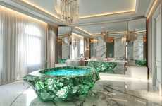Million-Dollar Crystal Bathtubs