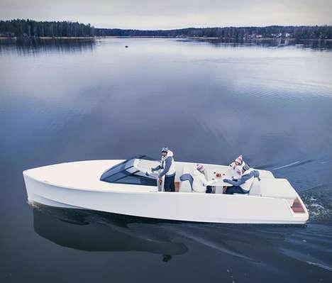 Sleek Eco-Friendly Boats