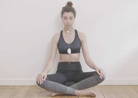 Breath-Tracking Medication Aids - The 'XHA' Meditation Amulet Guides Users Through Sessions