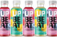 Vitamin-Enriched Protein Waters - The Upbeat Drinks Spring Water Beverages are Low in Sugar