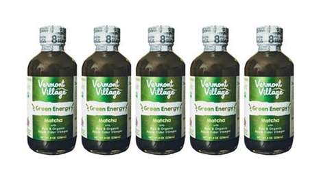 Matcha-Infused Drinking Vinegars