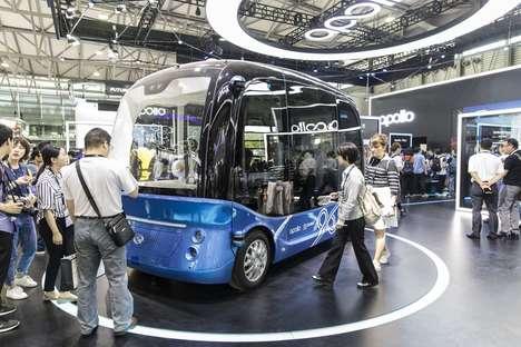 Mass-Produced Autonomous Busses