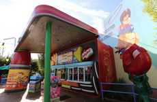 Nostalgic Lunchbox Diners - Woody's Lunch Box is a Brand New Restaurant Inside Toy Story Land