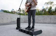 Portable Performer Stages
