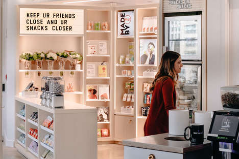 Co-Working Community Shops - WeWork's WeMRKT Showcases Products Made by Members