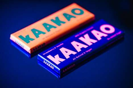 Non-Chocolate Chocolate Bars - kAAKAO Uses Cocoa & Dates in the Making of Its Revolutionary Product