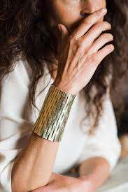 Upcycled Leather Statement Jewelry