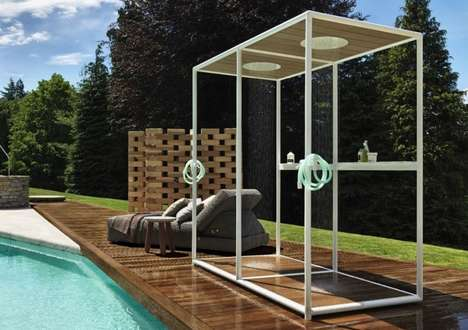 High-End Outdoor Showers