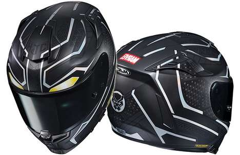 Superhero-Inspired Motorcycle Helmets
