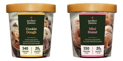 Private Label Ice Creams - Target Has Released Healthy Ice Creams Under Its Archer Farms Label