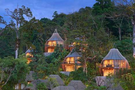 Rainforest Tree Hotels - The Keelmala Hotel in Thailand Offers a Luxe Vacation with an Ancient Feel
