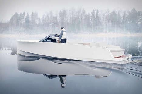 Sleek Silent Yachts