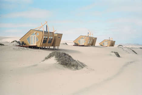 Unique Desert-Set Hotels - The Shipwreck Lodge on the Namibian Coast Offers Solar-Powered Cabins