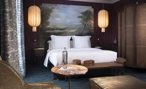 Literary Tribute Hotels - Les Hoteliers Impertinents Opened the New Hotel Monte Cristo in Paris