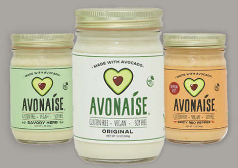 Eggless Avocado Mayonnaise