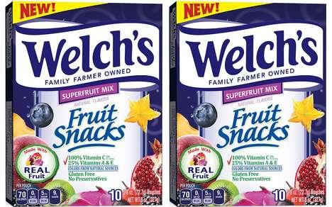 Super Fruit-Infused Prepackaged Treats