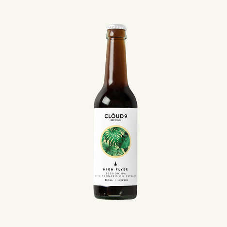 Cannabis Oil-Infused Beers
