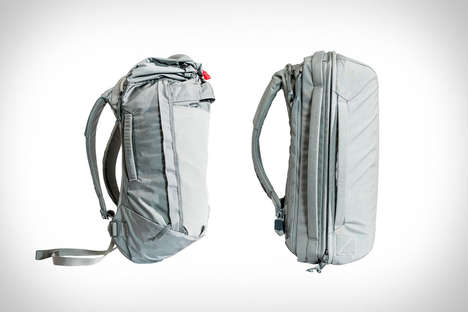 Nylon-Shelled Bag Collections - Evergoods' Crossover Backpacks Can Handle Active & Urban Lifestyles