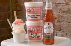 Rosé-Flavored Ice Creams