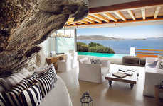 Luxe Cliffside Greek Retreats