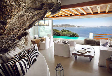 Luxe Cliffside Greek Retreats - The Cavotagoo Hotel is a Special Secluded Place to Relax and Unwind