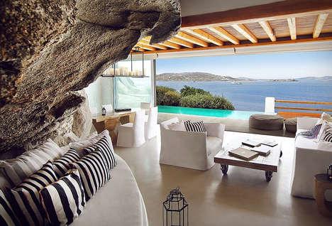 Luxe Cliffside Greek Retreats