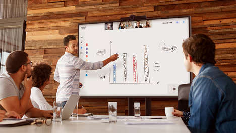 Affordable 4K Touch-Screen TVs - The HELLO Touch is a Trustworthy Gadget for Presentations