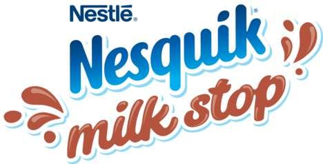 Refreshing Milk-Based Beverage Pop-Ups