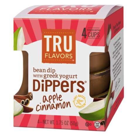 Apple Cinnamon Bean Dips