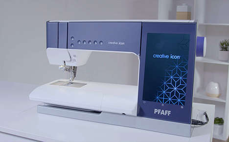 Intelligent Embroidery Sewing Machines
