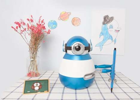 Artistic Educational Drawing Robots