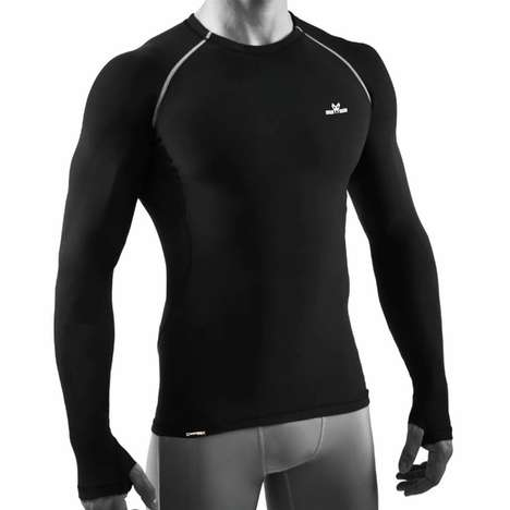 Carbon Fiber-Infused Activewear