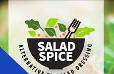 Low-Calorie Salad Seasonings - The Salad Spice Co. Offers Inventive Alternatives to Salad Dressing