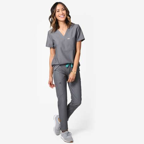 Stylish Medical Scrubs - 'FIGS' Offers High-Performance, Fashion-Forward Sanitary Clothing