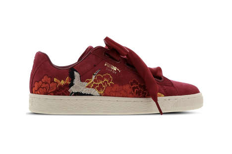 Kimono-Inspired Sneakers
