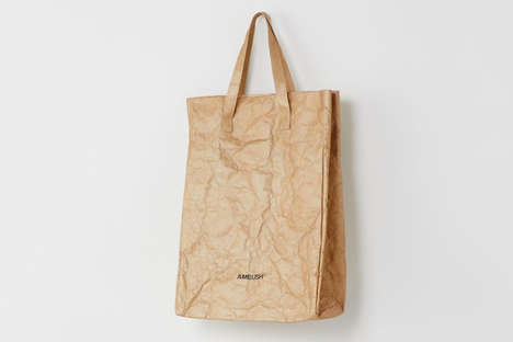 Paper Bag Totes - AMBUSH Design Launched an Obscurely Designed Carrier