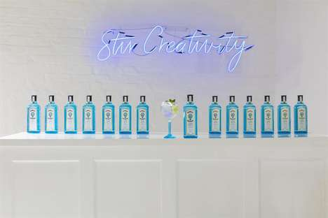 "Artful Cocktail-Making Experiences - Bombay Sapphire is Encouraging Consumers to ""Stir Creativity"""