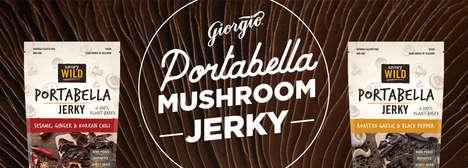 Mushroom-Based Jerky Snacks