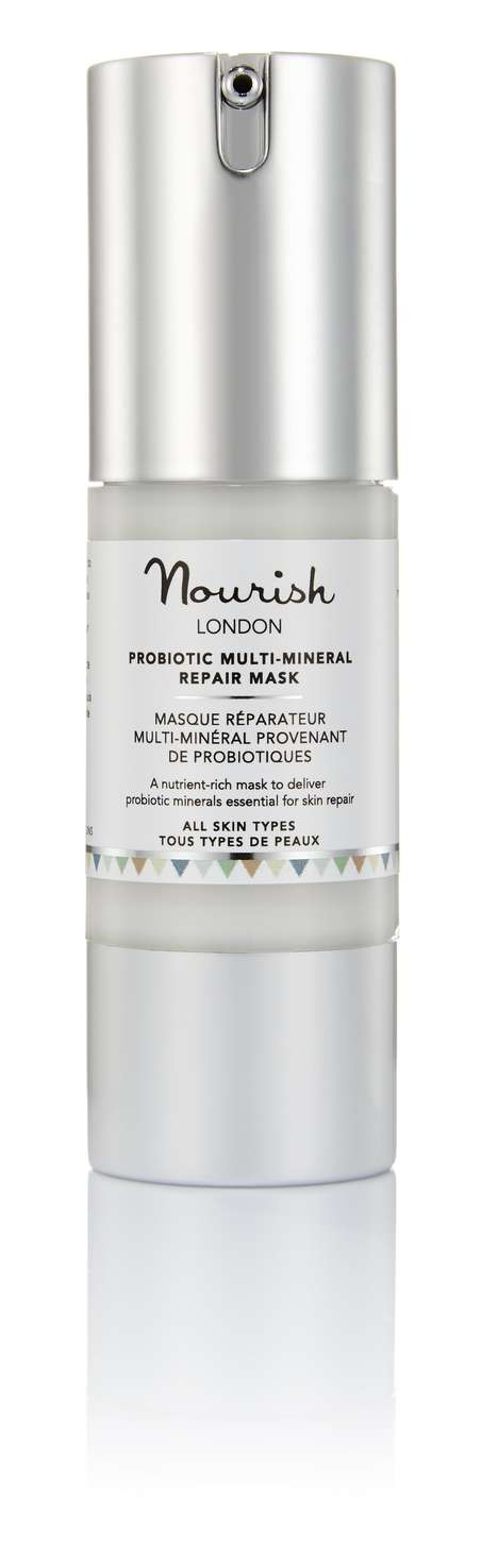 Reparative Probiotic Masks - Nourish London's Nutrient-Rich Mask Assists with Skin Repair