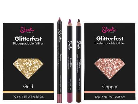 Biodegradable Glitter Cosmetics