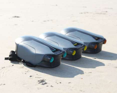 Compact 3D-Printed Jetpacks - The CUDA Jetpack Pushes Users Forward Underwater