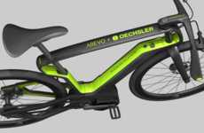 Eco Carbon Fiber Bikes - Arevo's 3D-Printed Bikes Can Be Created Locally with Ease